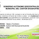 INVITACIÓN A LA ASAMBLEA DE RENDICIÓN DE CUENTAS
