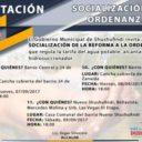 5 INVITACIÓN: SOCIALIZACIÓN DE REFORMA A ORDENAZA QUE REGULA LA TARIFA DEL AGUA POTABLE