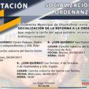 4 INVITACIÓN: SOCIALIZACIÓN DE REFORMA A ORDENAZA QUE REGULA LA TARIFA DEL AGUA POTABLE